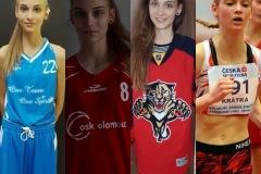 Basketbal a atletika, dva sporty, které ji provázely dospíváním