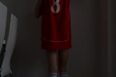 Basketbal byl kolektivní sport, kde byla závislá na trenérovi a týmu